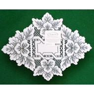 Doily Heirloom White 12 x 9 Set Of (3) Heritage Lace