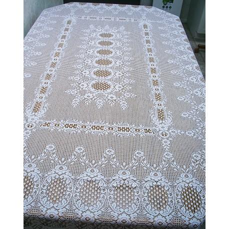 Tablecloths Valencia 60x84 White Oxford House