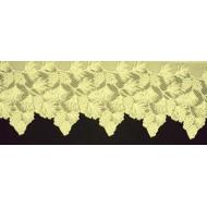 Mantel Scarf Woodland 20x88 Ecru Heritage Lace
