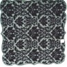 Table Topper Heritage Damask 42x42 Black Heritage Lace