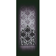 Chantilly 16x84 Black Table Runner Heritage Lace
