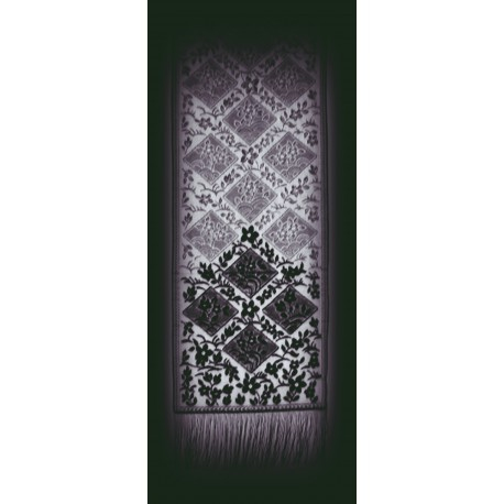 Chantilly 16x84 Black Table Runner Oxford House