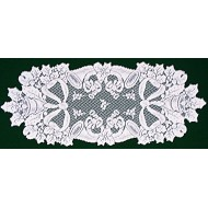 Table Runners Christmas Horns 14x36 White Oxford HOuse