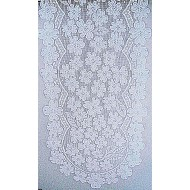 Dogwood 14x53 WhiteTable Runner Heritage Lace