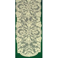 Table Runner Empress 14x54 Ivory Oxford House