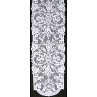 Table Runner Empress 14x54 White Oxford House