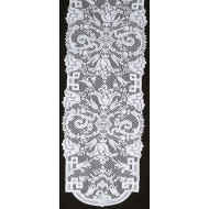 Table Runner Empress 14x88 White Oxford House