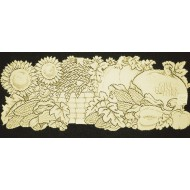 Table Runner Harvest Thanks 14x36 Cafe Heritage Lace