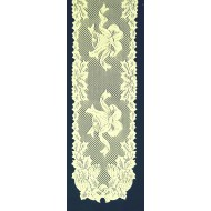 Table Runner Holly Bells 14x72 Ivory Oxford House