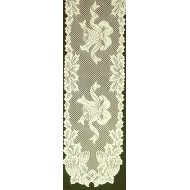 Holly Bells 14x90 Ivory Table Runner Oxford House