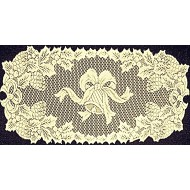 Holly Bells 14x36 Ivory Table Runner Oxford House