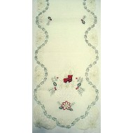 Table Runner Noel 15x54 Light Ivory Heritage Lace