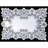 Placemats Heirloom 14x20 White Set Of (4) Heritage Lace