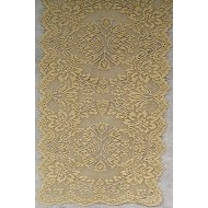Table Runner Savoy 14x36 Antique Gold Oxford House