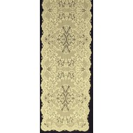 Savoy 14x54 Antique Gold Table Runner