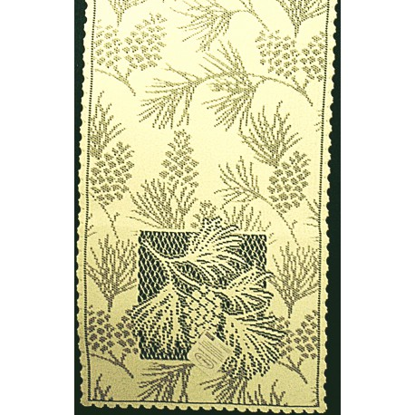 Table Runners Woodland Table Linens 14x60 Ecru