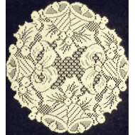 Doilies Holly Bells 12 R Ivory Set Of (2) Oxford House