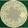 Blossom 12 R Ecru Set Of (2) Doilies Heritage Lace