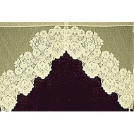 Curtains Cleremont Curtain 2 Pc Swag 60x38 Ivory Heritage Lace