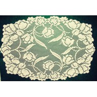 Dutch Garden 13x19 Ivory Placemats Set Of (4) Oxford House