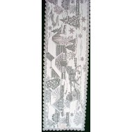 Table Runner Sleigh Ride 14x60 White Heritage Lace