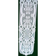 Table Runner Angels 9x50 White Heritage Lace