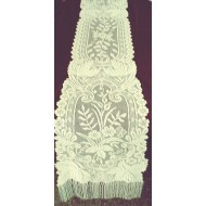 Table Runner Westminister Floral 13x84 Hint Of Ivory Oxford House