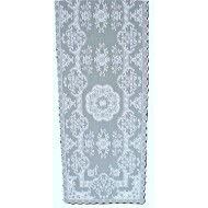 Table Runner Grantham/Filigree 14x54 White Heritage Lace