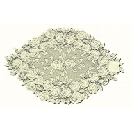 Doilies Tea Rose Ecru 14 x 24 Set Of (2) Heritage Lace