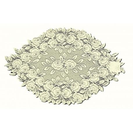 Doilies Tea Rose Ecru 14 x 24 Heritage Lace