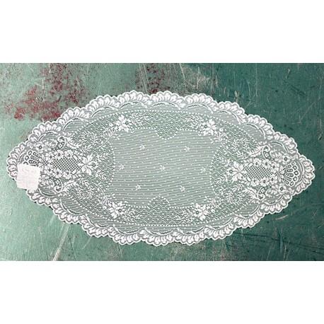 Doily Floret White 14 x 28 Set Of (2) Heritage Lace
