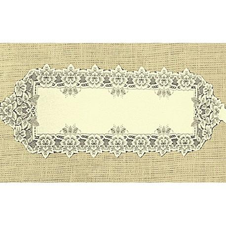 Heirloom 14x54 Ecru Table Runner Heritage Lace
