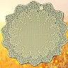 Blossom 42 Inch Round Ecru Table Topper Heritage Lace