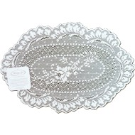 Doily Floret White 8 x 12 Set Of (2) Heritage Lace