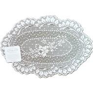Doilies Floret White 8 x 12 Set Of (3) Heritage Lace