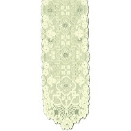 Table Runners Filigree 14x54 Light Ivory Heritage Lace