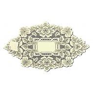 Doily Heirloom Ecru 12 x 20 Set Of (2) Heritage Lace
