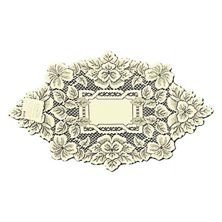 Doily Heirloom Ecru 12 x 20 Set Of (2) Heritage Lace
