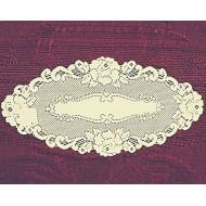 Doily Vintage Rose Ecru 12 x 24 Set Of (2) Heritage Lace