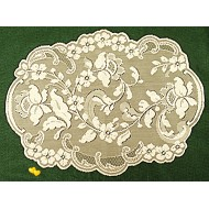 Elizabeth Placemat 14x19 Cafe Color Set Of (4) Heritge Lace