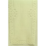 Table Runner Battenburg Paisley 14x36 Ivory Oxford House
