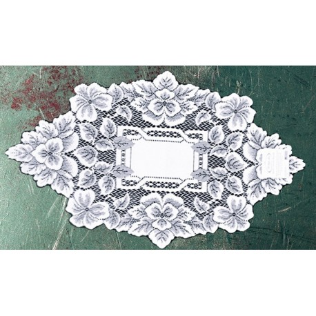 Doily Heirloom 12x20 White Set Of (2) Heritage Lace