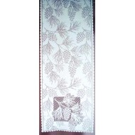 Table Runner Woodland 14x60 White Heritage Lace