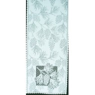 Table Runner Woodland 14x45 White Heritage Lace