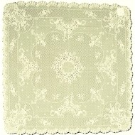 Table Toppers Floret Ecru 36 x 36 Heritage Lace