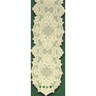 Table Runners Cleremont 14x54 Ivory Heritage Lace