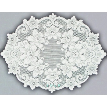 Placemats Cleremont 14x20 White Set Of 4 Heritage Lace