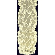 Table Runner Dutch Garden 14x54 Ivory Oxford House