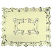 Heirloom Tablecloth Ivory 58 x 58 Heritage Lace