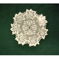 Savoy Lace Doily Ivory 13 Round Set Of (2)Oxford HOuse